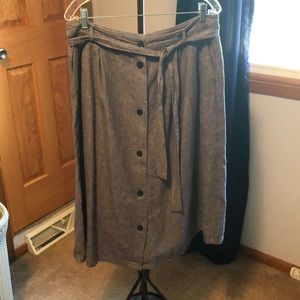 Old navy chambray skirt size 12